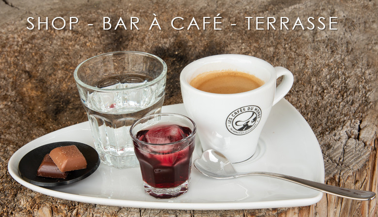 Bar à café chez Baïlo
